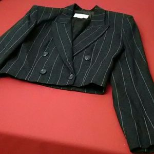 EUC Vintage Christian Dior Cropped Jacket Size 4